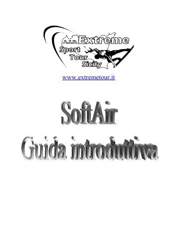 guida al softair - Extreme Sport Tour Sicily