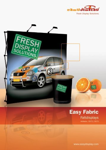 Easy Fabric Faltdisplay - Easydisplay.com