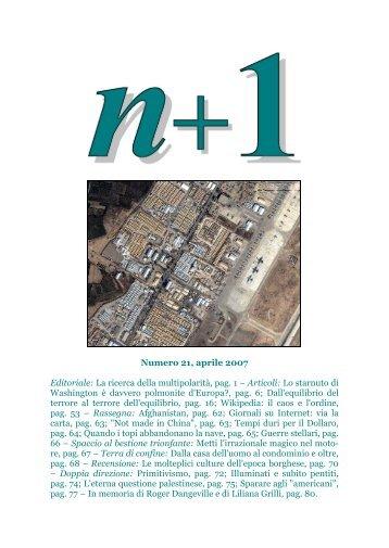 Download della rivista completa in formato Pdf - n+1
