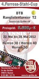 4.Ferrosa-Stahl-Cup 2012 - Tennisclub Geithe