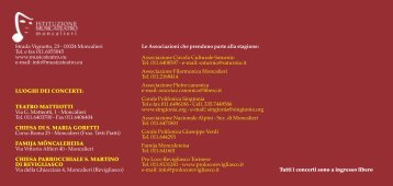 libretto 21x10 stag. musicale 2010:Layout 1 - scuola civica musicale