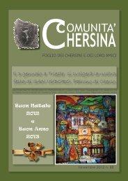n.88 corrente edizione del GIORNALE della Comunita Chersina