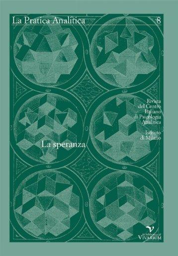La Pratica Analitica - rivista annuale - nuova serie n. 8/2011-2012