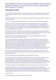 Corso base UEFA B per allenatori a Belluno PDF - aiacbelluno