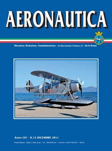 Anno LVI - N.12 DICEMBRE 2011 - Associazione Arma Aeronautica ...