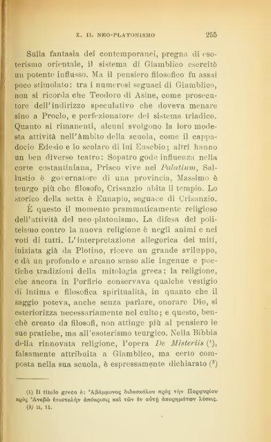 La filosofia greca