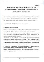 Specifiche Tecniche Cara - Dipartimento della Protezione Civile