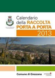 Calendario rifuiti 2013 - Comune di Grezzana