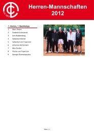Herren-Mannschaften 2012 - TC Lohmar