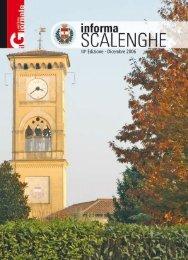 IIIa Edizione - Dicembre 2006 - Comune di Scalenghe