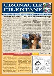 Aprile 2009 - Cronache Cilentane