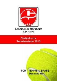 Clubinfo 1-2013 - tc-marxheim.de