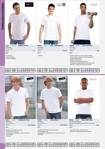 Printwear/04 Sublimationstextilien - DE - Basis - Condi-Werbung