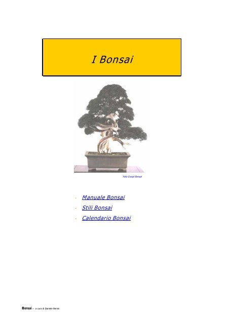 Calendario Innesti Pdf.Manuale Pdf I Bonsai Vitanaturale