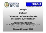 Il mercato del settore in Italia: evoluzione e prospettive Sanzio ...