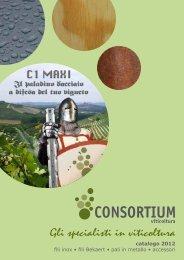 Catalogo Prodotti Italiano pdf, 8.06 MB - Consortium Spa
