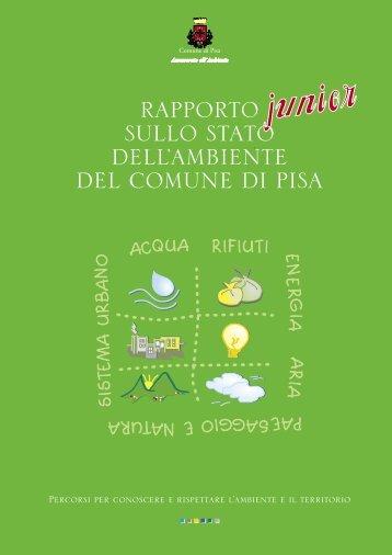 Rapporto sullo stato dell'ambiente Junior - 2004