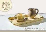 Il piacere della tavola - Ceramiche Tapinassi