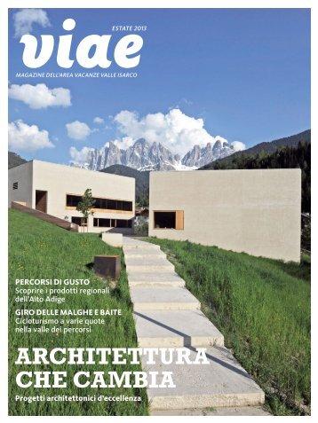 viae Eisacktal Magazin Estate 2013