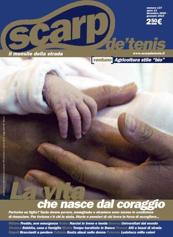 scarp de' tenis dicembre 2009 - Caritas Torino