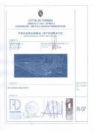 R-07 Relazione geologica (Allegato. n. 9) - Città di Torino