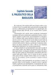 Il Paleolitico della Basilicata - Precedente versione del sito