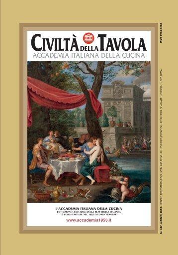 Marzo 2013 - Accademia Italiana della Cucina