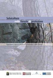 Selvicoltura nelle foreste di protezione - INTERREG Forêts de ...