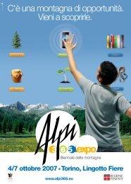 Il programma dell'Expo - MountainBlog