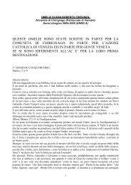 Archivio omelie Anno Liturgico 2004-2005 (anno A)