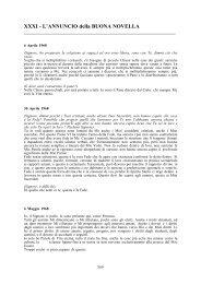 XXXI - L'ANNUNCIO della BUONA NOVELLA - Laura Maschi