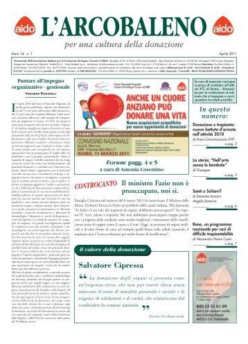 L'Arcobaleno n. 1 2011 - Aido