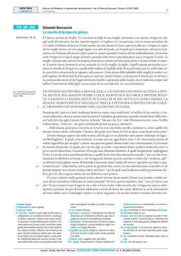 T45 ON LINE Giovanni Boccaccio La novella di ... - Palumbo Editore