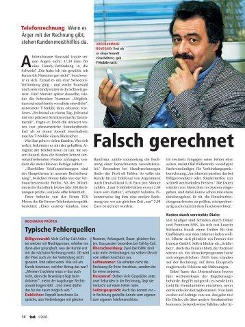 Falsch gerechnet, test, 1/2005 - tcsmoers