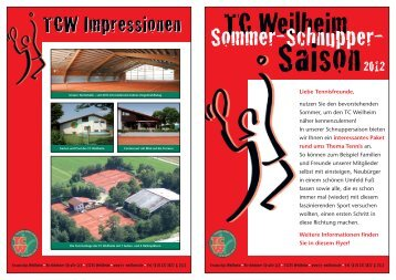 Sommer-Schnupper- - Tennisclub Weilheim
