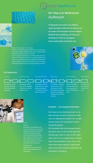 Der Weg zum Medikament - burlon design