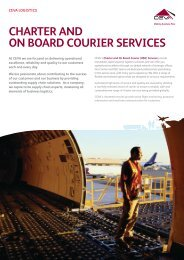 CHARTER And On Board COURIER SERVICES - CEVA Logistics