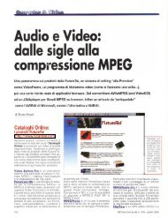 Audio e Video: dalle sigle alla compressione MPEG - digiTANTO.it