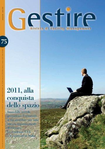 2011, alla conquista dello spazio 2011, alla conquista ... - IFMA Italia