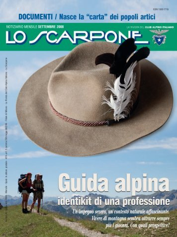 LO SCARPONE 09 - Club Alpino Italiano