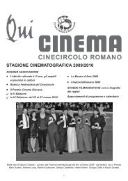 Cinecircoloromano.it