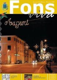 FONS VIVA DICEMBRE '06.indd - Comune di Fontaniva