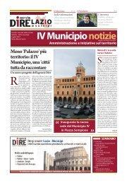 IV Municipio notizie - Roma Metropolitane