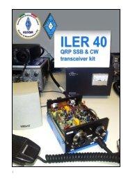 ILER 40 QRP SSB 6 CW transceiver kit - Sezione ARI Montebelluna