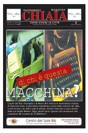 di chi è questa MACCHINA - Chiaiamagazine.it