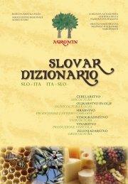 SLOVAR DIZIONARIO - AGROMIN