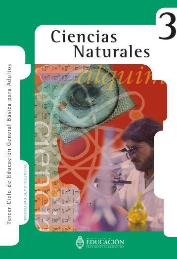 Ciencias Naturales Nivel III - Región Educativa 11