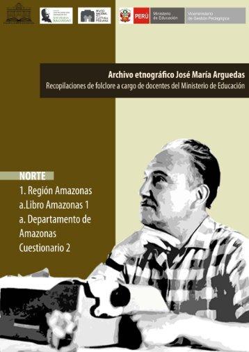 Amazonas Cuest. 2 - Centenario José María Arguedas
