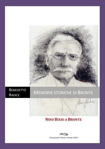 Nino Bixio a Bronte - Bronte Insieme