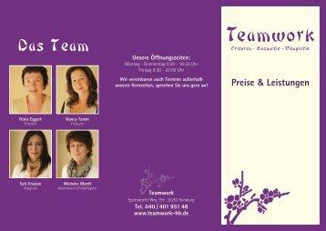 Teamwork Das Team